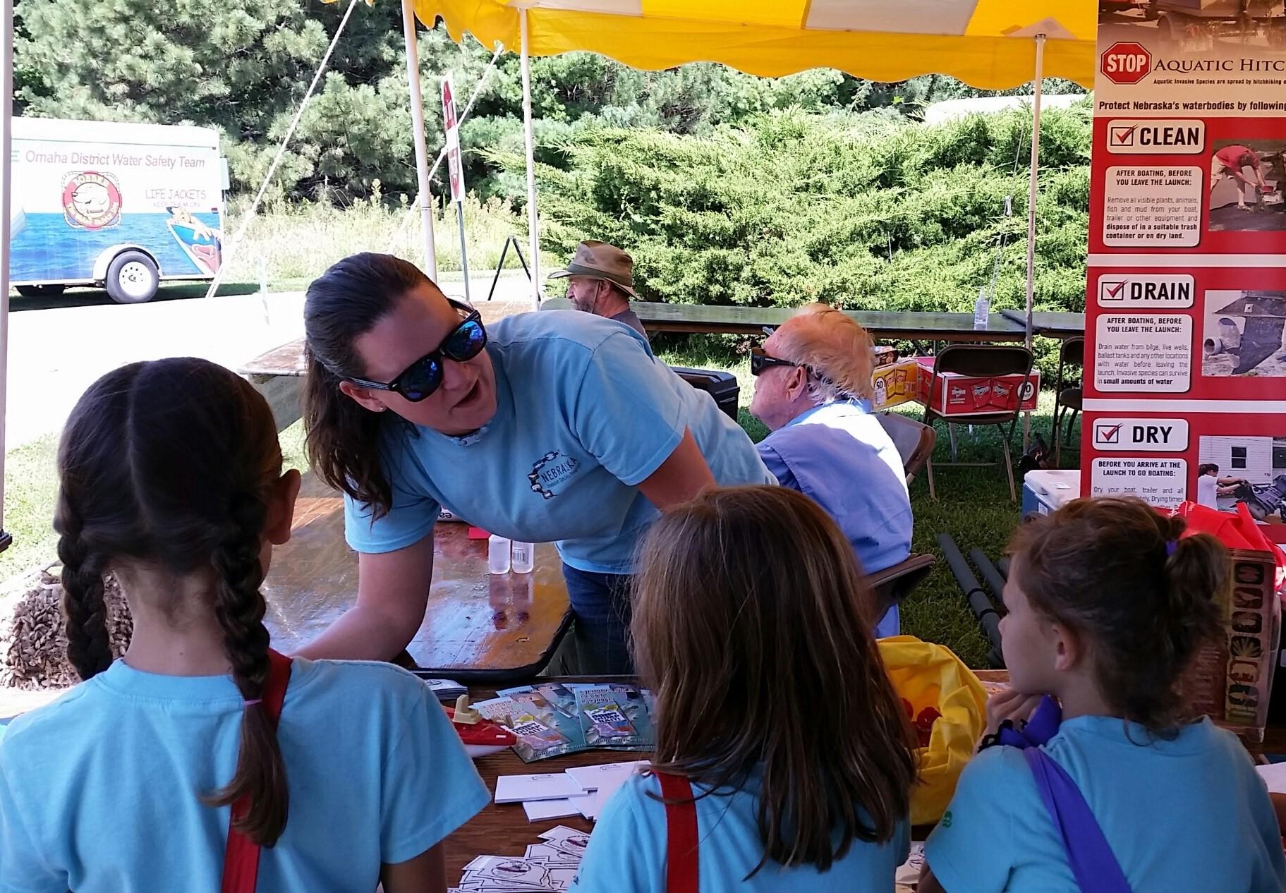2016 lakeside outreach event. Photo: Allison Zach