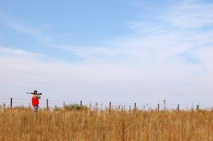 Pheasant hunting, southwest Nebraska. Photo Jessica Laskowski