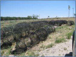 Hoop nets (courtesy Lindsey Chizinski)
